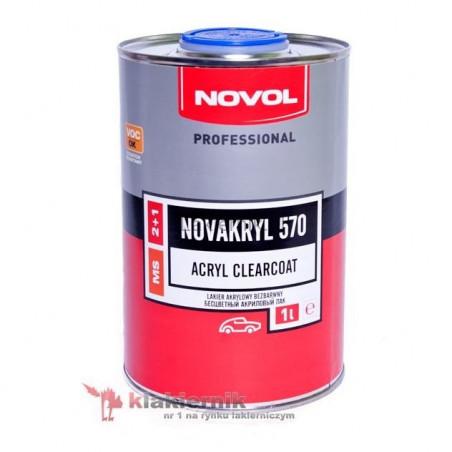 Lakier bezbarwny NOVAKRYL 570 (NOVOL) - 1 L