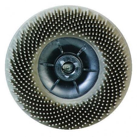 Szczotka czyszcząca 3M 07582 biała P120 Roloc Bristle Disc -