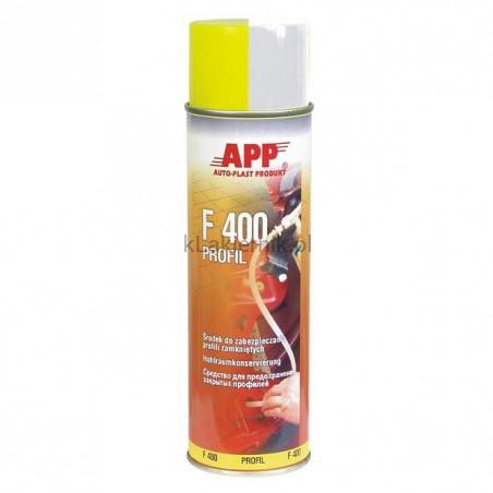 Środek do profili zamkniętych APP 050401 F400 spray 500 ml