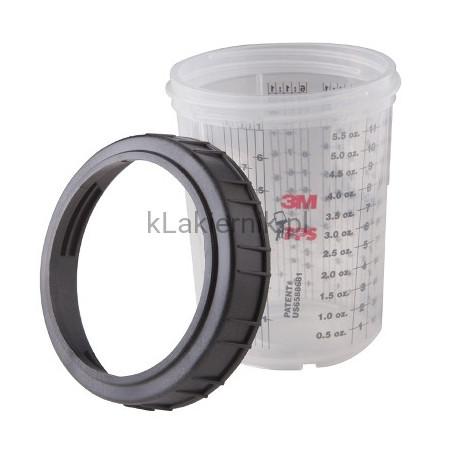 Kubek PPS 3M 16115 zewnętrzny/twardy, pierścień zamykający -