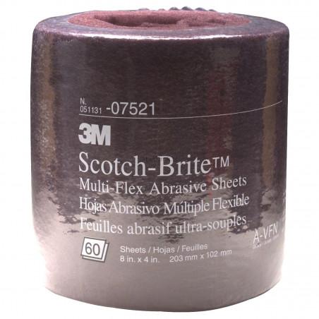 Włóknina ścierna fioletowa 3M 07521 Very Fine Scotch-Brite
