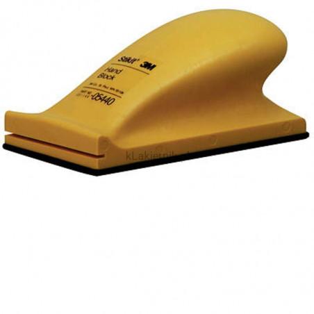 Blok ręczny 3M 5442 do materiału ściernego - 70 x 127 mm