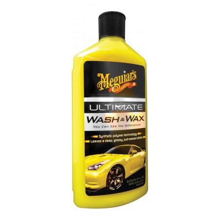 Szampon samochodowy z woskiem Ultimate Wash & Wax MEGUIAR'S -