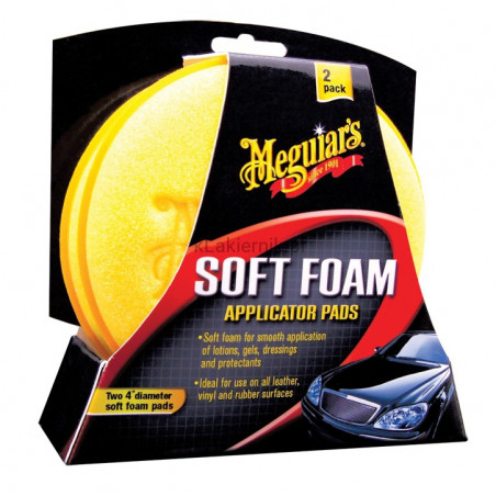 Aplikator Soft Foam Applicator Pad MEGUIAR'S - 2 szt