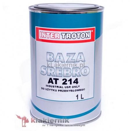 Lakier bazowy samochodowy TROTON srebro AT 214 - 1 L