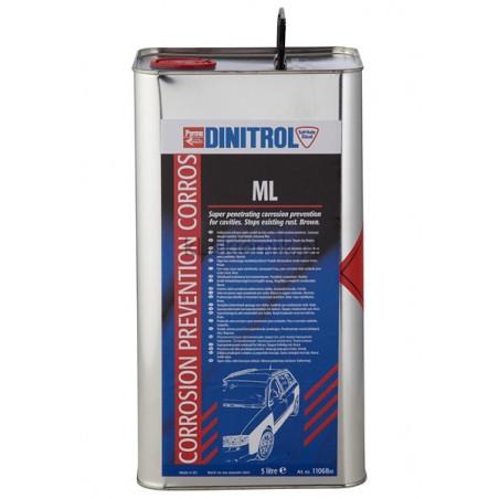 Środek DINITROL ML antykorozyjny do profili zamkniętych - 5 L