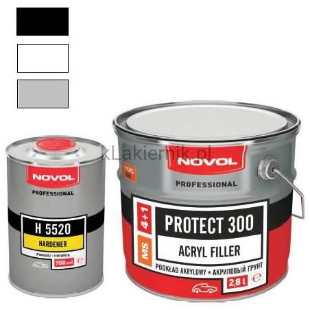 Podkład akrylowy wypełniający NOVOL PROTECT 300 - kpl.