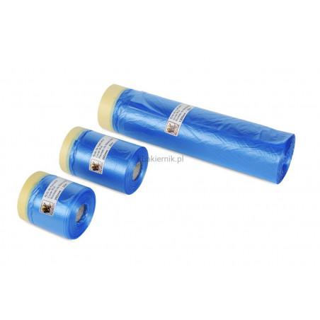 Folia maskująca z taśmą lakierniczą Cover Roll - INDASA 1200mm