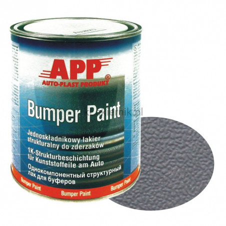 APP Lakier strukturalny do zderzaków Bumper Paint - 1 L