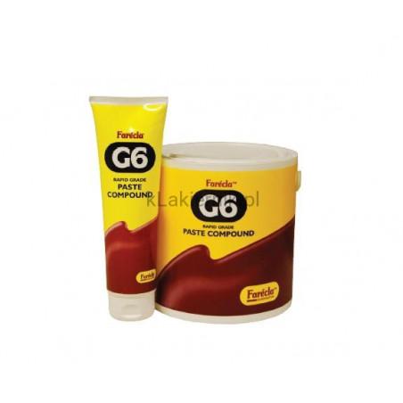 Pasta polerska FARECLA G6 - 3kg + Gąbka Gmop Biały Gratis