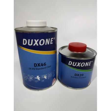 Lakier bezbarwny AXALTA DUXONE DX46 - kpl (1 + 0,5) L x 2
