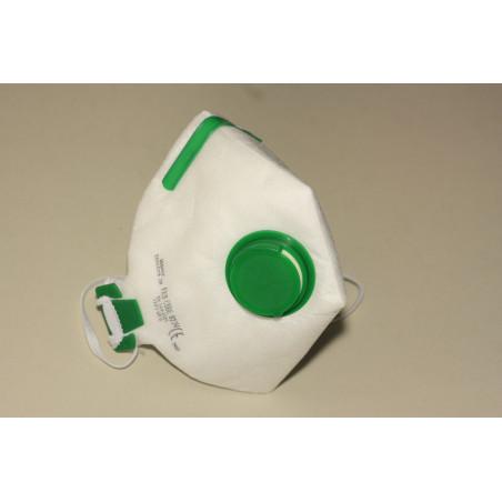 Jednorazowa maska filtrująca z zaworkiem P1