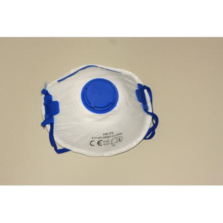Jednorazowa maska filtrująca z zaworkiem P2