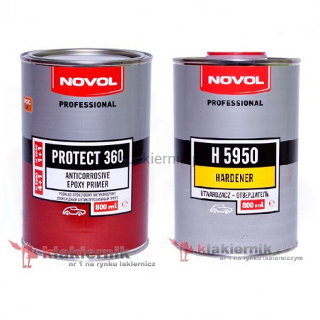 Podkład epoksydowy NOVOL antykorozyjny PROTECT 360 - kpl.