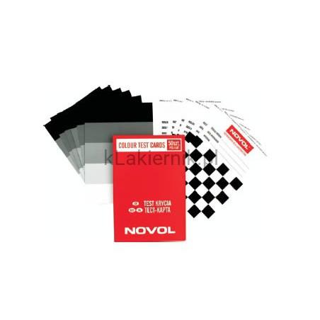Test karty - test krycia Novol - 50 szt