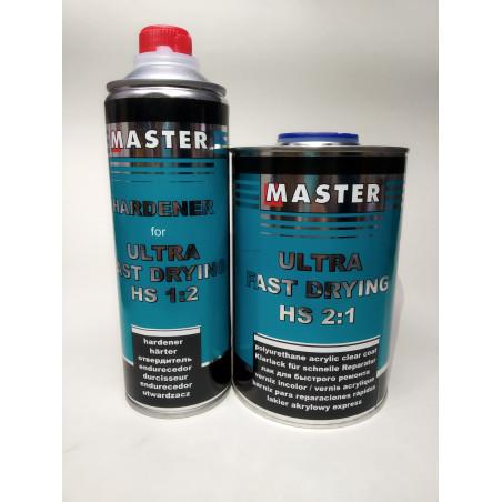 Lakier bezbarwny MASTER ULTRA FAST DRYING - TROTON - 2:1 (1l