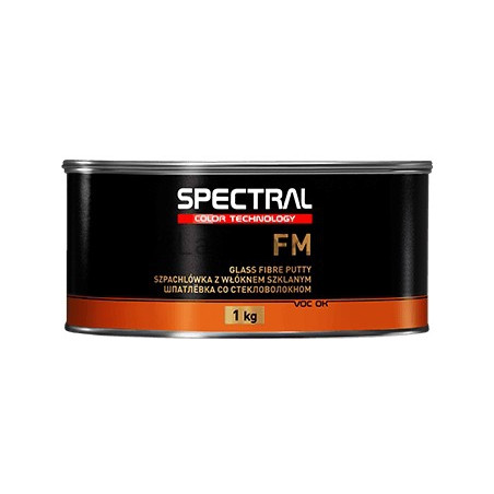 Szpachlówka poliestrowa 2K z włóknem szklanym SPECTRAL FM - 1 kg