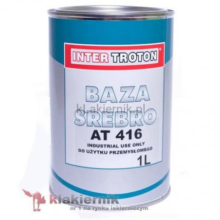 Lakier bazowy samochodowy TROTON srebro AT 416 - 3,75 L