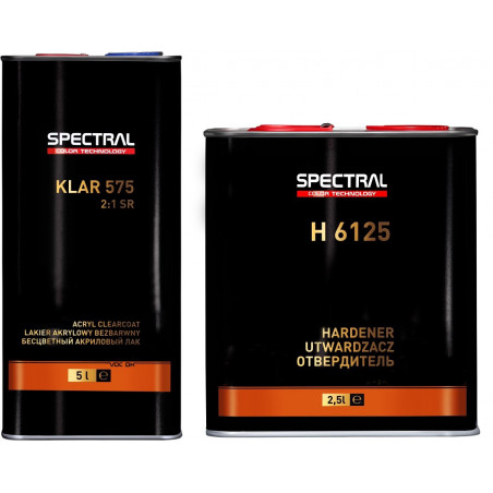 Lakier bezbarwny scratch resistant 2:1 SPECTRAL KLAR 575 -