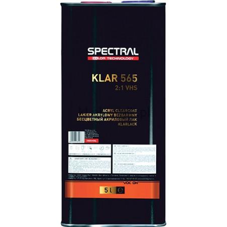 Dwuskładnikowy lakier bezbarwny 2:1 VHS SPECTRAL KLAR 565 -