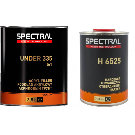 Dwuskładnikowy podkład akrylowy 5:1 2K SPECTRAL UNDER 335 -