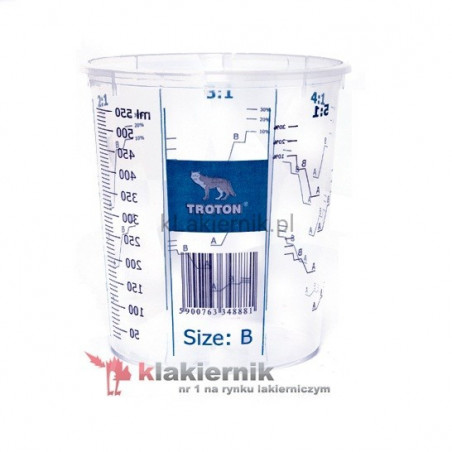 Kubek lakierniczy TROTON z podziałką - 1300 ml