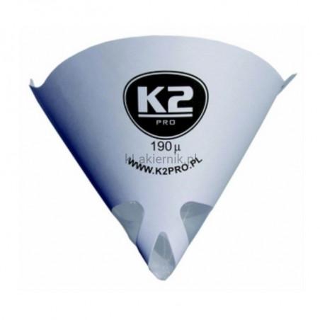 Sitko lakiernicze K2 190 mikronów do lakierów konwencjonalnych