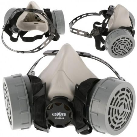 Maska lakiernicza AIRPRESS - komplet wraz z filtrami