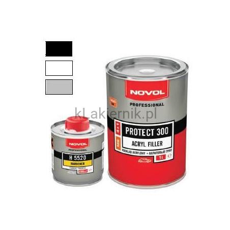 Podkład akrylowy wypełniający PROTECT 300 (NOVOL) - kpl.