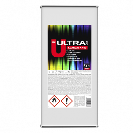 Lakier bezbarwny NOVOL ULTRA - kpl. (5+2,5) L