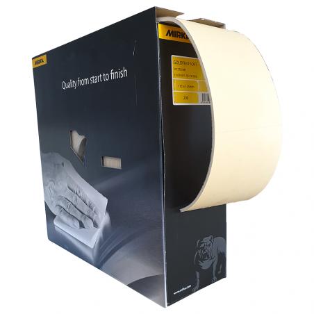 Papier ścierny na gąbce - MIRKA - 115mm x125mm