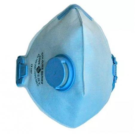 Jednorazowa maska filtrująca z zaworkiem P2 NR D