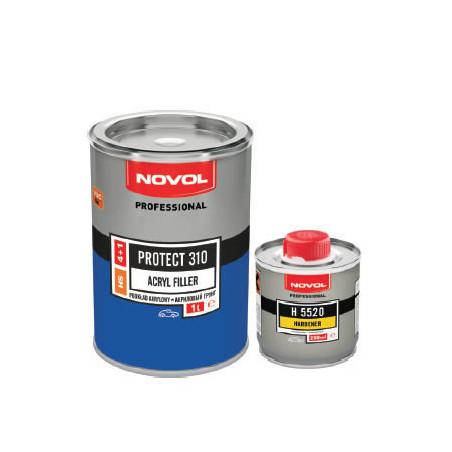 Podkład akrylowy HS 4:1 NOVOL PROTECT 310 - kpl. (1+0,25) L
