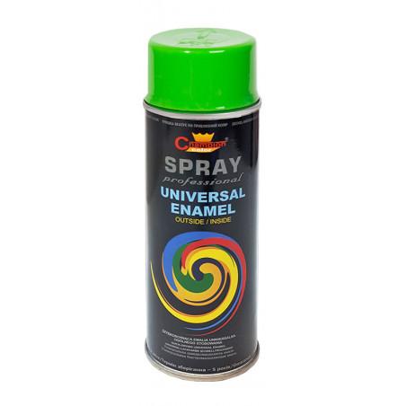 Lakier Uniwersalny SPRAY - 400ml - zielony jasny ( RAL 6018 )