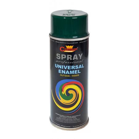 Lakier Uniwersalny SPRAY - 400ml - zielony ciemny ( RAL 6009 )