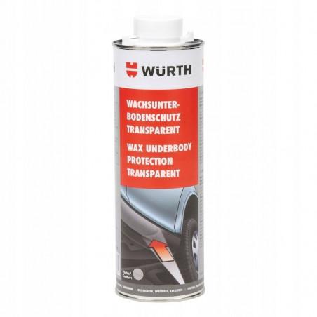 Woskowa transparentna powłoka antykorozyjna do podwozia WURTH -