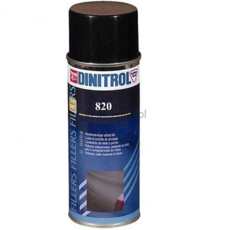 Lakier strukturalny do plastiku DINITROL 820 - spray 400 ml