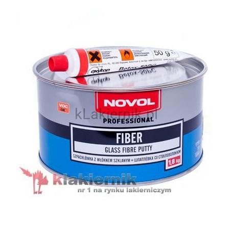 Szpachlówka z włóknem szklanym NOVOL FIBER - 1,8 kg