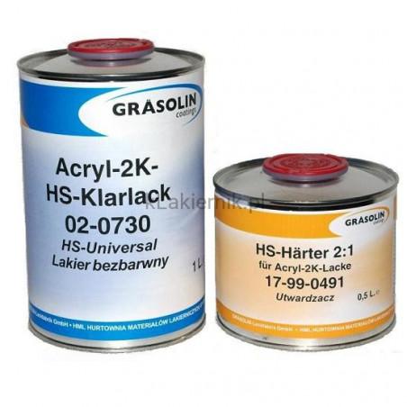 Lakier bezbarwny STANDOX Grasolin HS - kpl 5 L