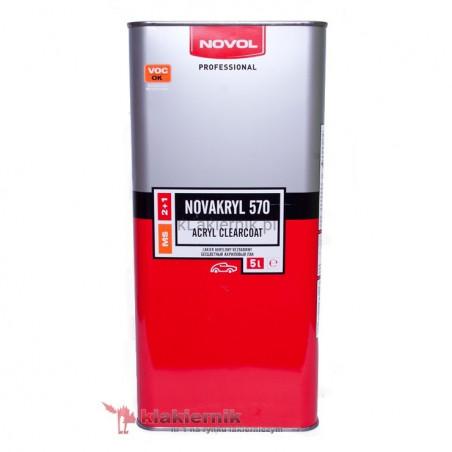 Lakier bezbarwny NOVAKRYL 570 (NOVOL) - 5 L