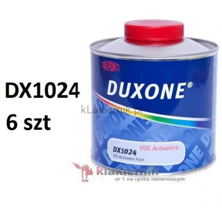 Utwardzacz DuPont DUXONE DX1024 szybki HS - 0,5 L x 6