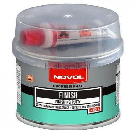 Szpachlówka wykańczająca NOVOL FINISH - 250 g