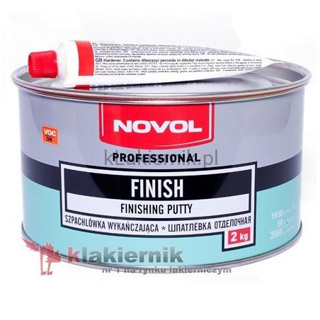 Szpachlówka wykańczająca NOVOL FINISH - 2 kg