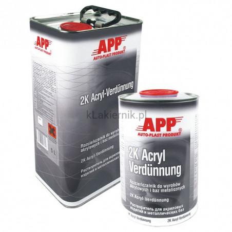 Rozcieńczalnik APP 030120 do wyrobów akrylowych i baz