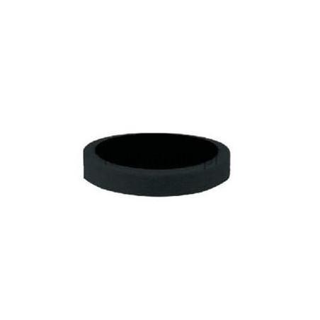 Gąbka polerska APP 080305 na rzep d150 czarna miękka gładka