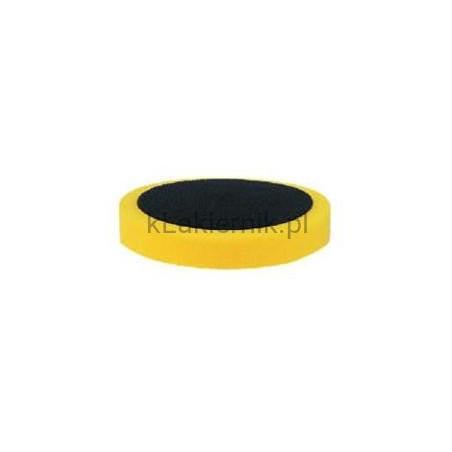 Gąbka polerska APP 080403 na rzep d150 żółta uniwersalna gładka
