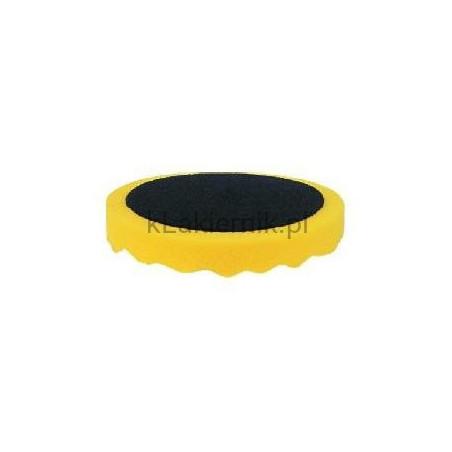 Gąbka polerska APP 080405 d150 żółta profilowana h 2,5cm