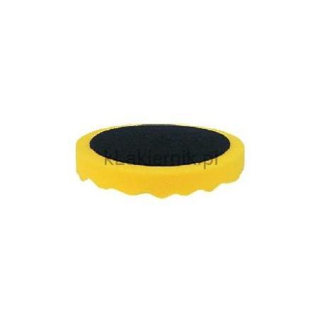Gąbka polerska APP 080501 d180 żółta profilowana h 2,5cm