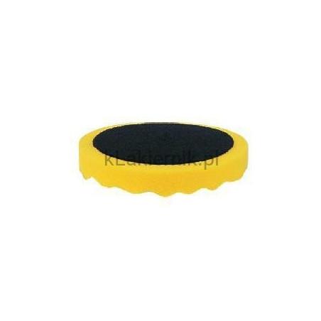Gąbka polerska APP 080502 d210 żółta profilowana h 3cm