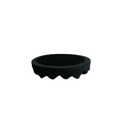 Gąbka polerska APP 080504 d210 czarna profilowana wykończeniowa
